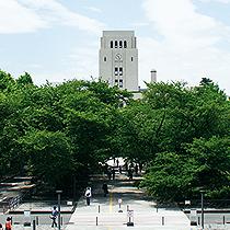 緑豊かな自然とハイテクが共存するキャンパス